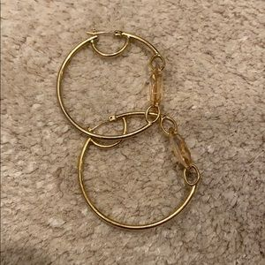 Henri Bendel Hoop Earrings